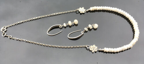 Sillimanite necklace
