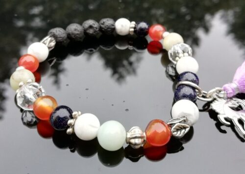 Essential oil Diffuser Bracelet - calm, focus & creativity.