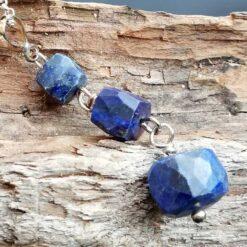 Lapis Lazuli Drop Sterling Silver necklace