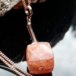 Sunstone Rose Gold necklace