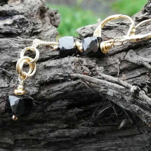 Black Spinel Jewellery set