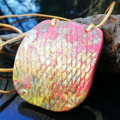 orange Autumn pendant