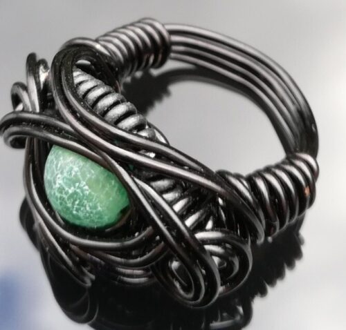 Dragon Eye wire ring