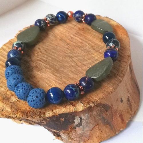 Essential OIl Bracelet joy protection grounding